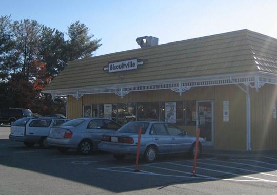 Biscuitville in Eden, NC