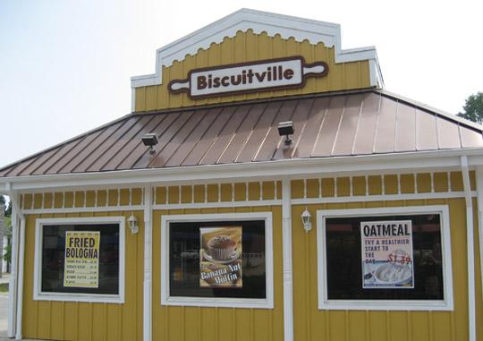 Biscuitville in Winston-Salem, NC