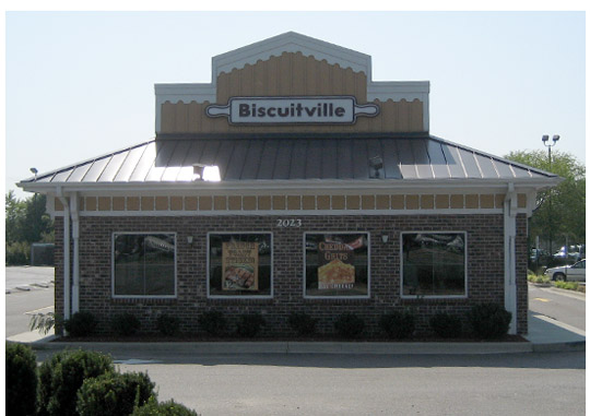 Biscuitville in Mt Airy, NC